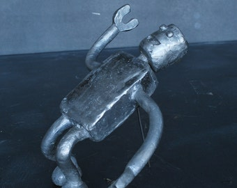 1950's Cast Aluminum Robot