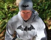 Hush Style Batman Superhero Knit Beanie