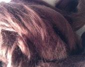 2oz Brown Bamboo Top Spinning Fiber Dyed Luxury Fiber