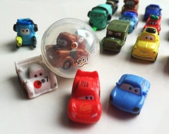 SQUINKIES CARS BOY Bath Bomb Party Favor and Surprise Squinkie Toy - Great Birthday Squinky Party Idea Game - Lush Bath Fizz Prize Gift Fun!