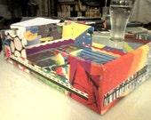 Custom Made for MF  - Colorful Handmade Office Inbox