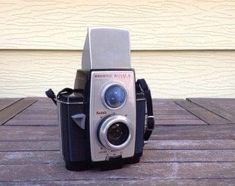 "FLASH SALE! 25% off when you enter ""25FLASH"" - Vintage Kodak Brownie Reflex Camera"