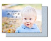 Personalized Photo Christmas & Holiday Cards (stamped)
