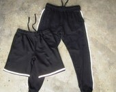 ROJAS reflective joggers  reflector 3m silver reflect sweatpants sweat track pant  grey black pants gym sweats