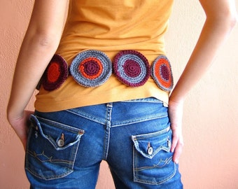 Fresh and Funky Circle Belt - Suitable to every size- s, m, L, XL, XXL