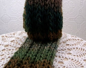 Hand Knit Scarf - Winter Accessories Winter Fashion  handmade Sandy Coastal Designs - ready to ship