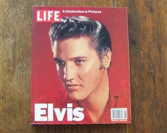 Vintage Life Magazine ELVIS A Celebration In Pictures 1995 King Of Rock Elvis's Life In Pictures Elvis Fan