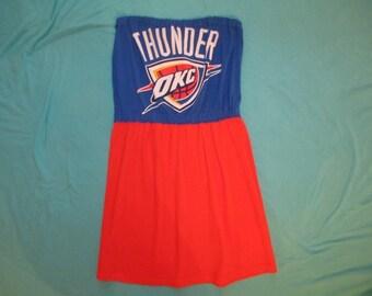 Oklahoma City Thunder Game Day Dress