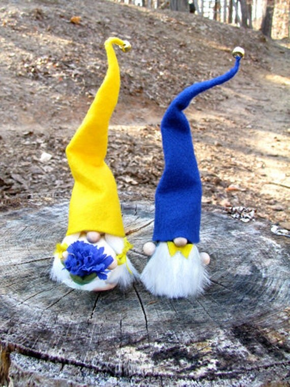 swedish wedding cake toppers swedish gnome wedding cake toppers swedish by studiolise 20687
