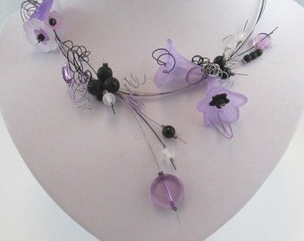 bellflowers necklace set (#1M)