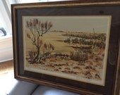 Signed and Numbered Lithograph by Maurice Buffet