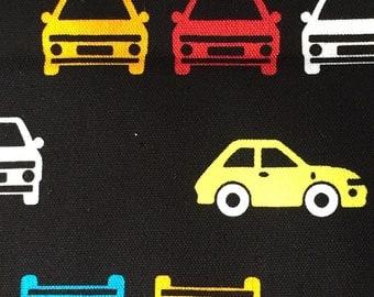 Japanese fabric car printed One yard limited sale