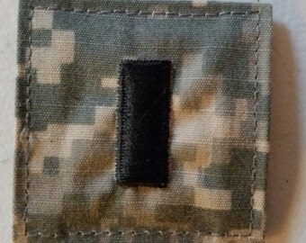US Army ACU Military First Lieutenant (O-1) Rank Patch