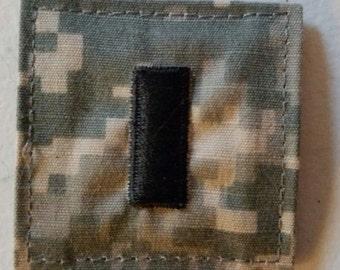 US Army ACU Military First Lieutenant (O-1) Rank Patch