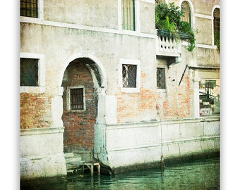 """Venice Door Photography, Venice Italy photos, Venice decor, European wall art, brown home decor - """"The Entrance"""" - Fine Art Photograph"""