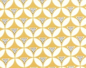 1 yard of Color Theory Geo Mod Mustard by V and Co for Moda