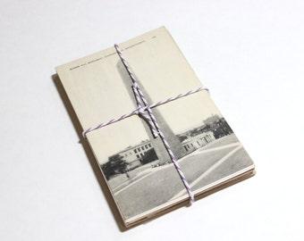 SALE 25 Vintage Used Massachusetts Black and White Postcards