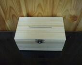 Mosaic wooden box with  broken wedding glass - Tzedakah Box