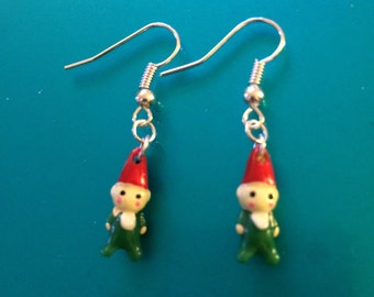Little Gnome or Elf earrings.