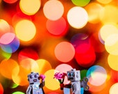 Robot Love No. 63/125 a limited edition Lego print