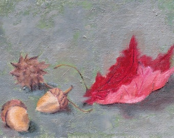 The Autumn Collection - Original Oil Painting