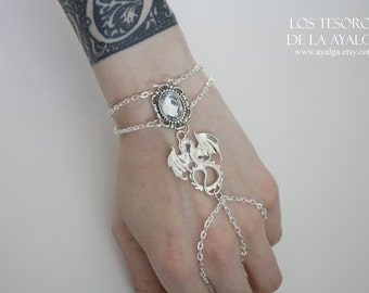 Dragon bracelet ring