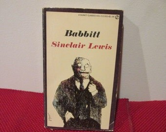 a book report on the novel by lewis sinclair babbitt Suggested books and resources to further your understanding of babbitt by sinclair lewis perfect for in-depth school essays and projects.