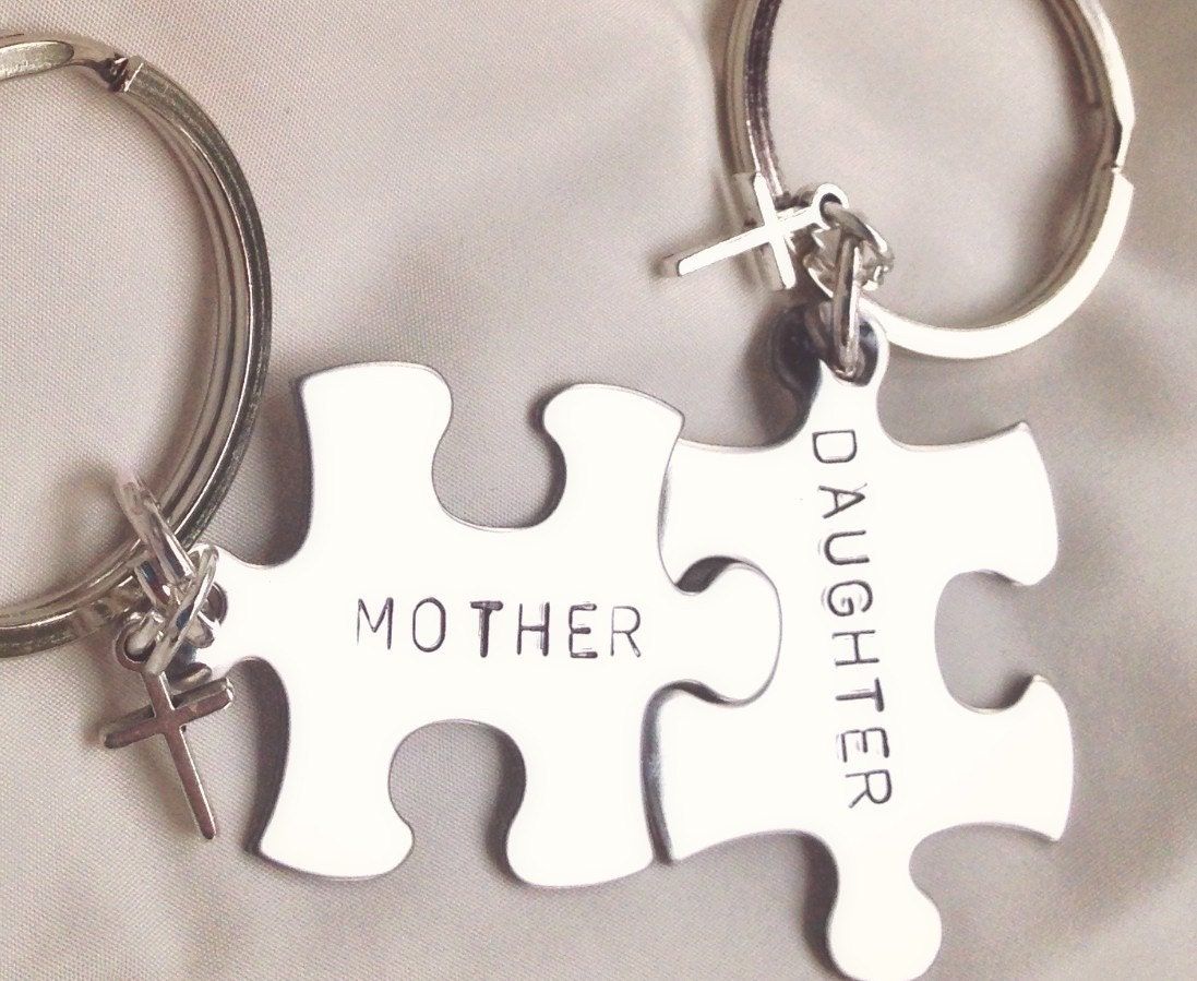 Mother daughter gifts mother daughter keychain boyfriend for Best gift for mother on her birthday