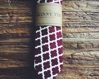 Skinny Tie || Marrakesh