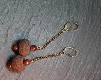 Boucles d'oreille collection hatai