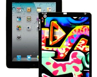 iPad 2/3/4 - iPad Mini - snap on plastic case - Graffiti Letter
