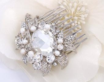 Selena - Swarovski Rhinestone Bridal Comb