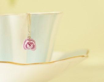 Cora Rose Pendant Necklace
