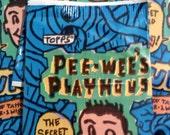 Pee Wees Playhouse Fun Pak Trading Cards