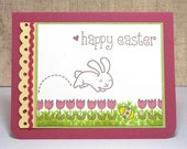 Easter Card, Happy Easter, Easter Bunny, Spring Card