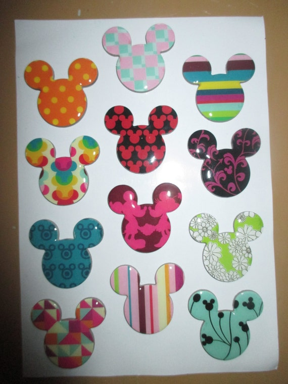 Mickey mouse magnets 10 fish extender gift disney disney for Disney fish extender