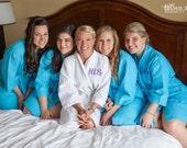 Bridesmaids Gifts, Bridemaids Robes, Wedding, Set of 5