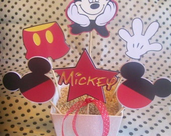 Small Mickey Mouse Table Centerpiece