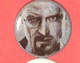 Magnet Gift Set - Breaking Bad  Magnets or Pins set of 5- 7.95 - Free shipping when ordered with another item