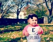 Inspirational Alphabet - Child t-shirt - tee - raglan - toddler, baby, infant - American Apparel
