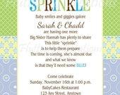 Baby Boy Sprinkle Shower Invitation