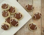 Football Cookies  - Mini (2 Dozen)
