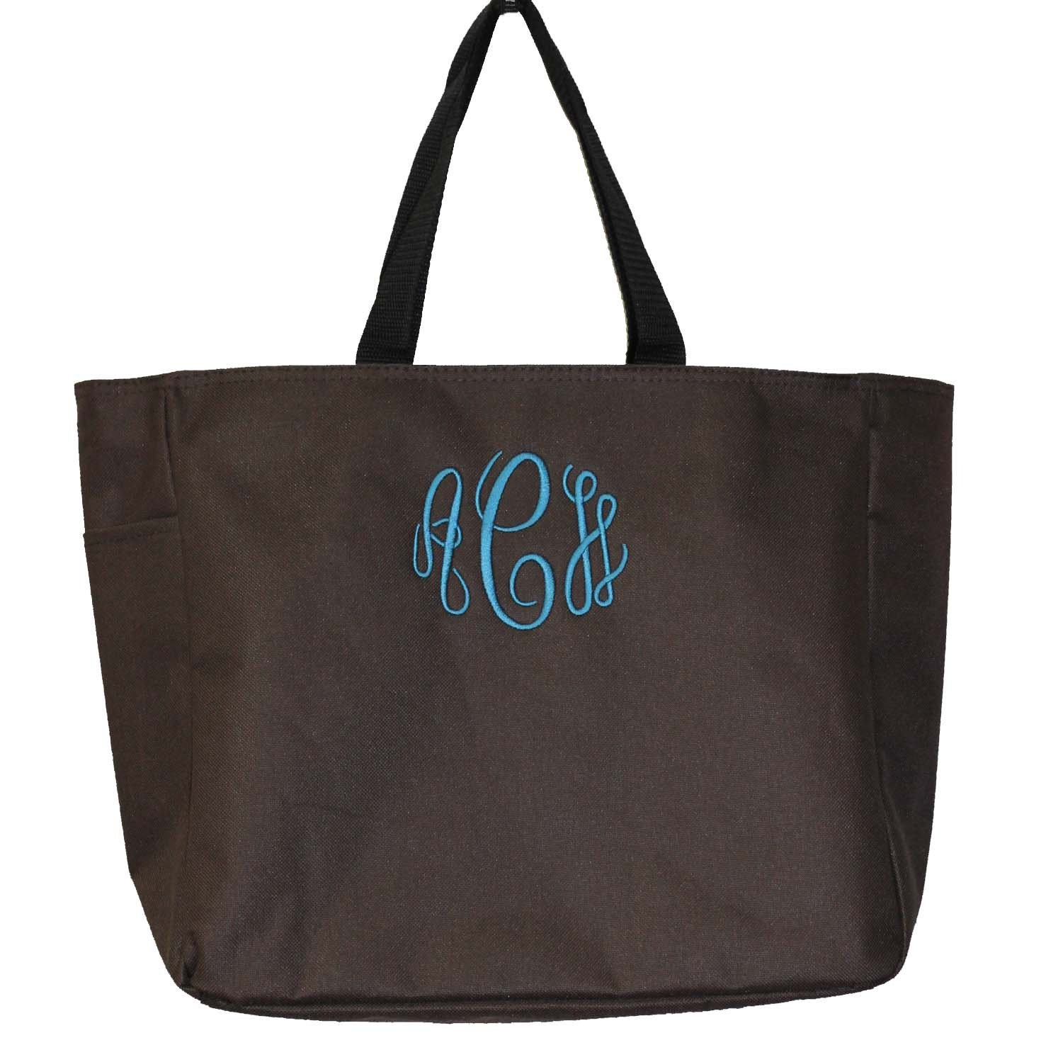tote bag monogrammed tote bag personalized by