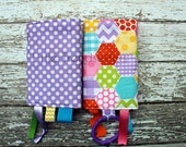 Cheater Quilt Girls Drool Pads