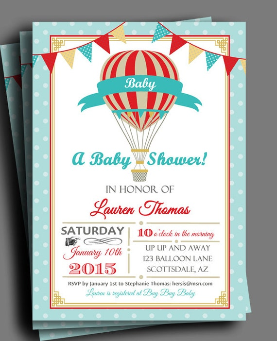 Etsy Baby Shower Invite for amazing invitations layout