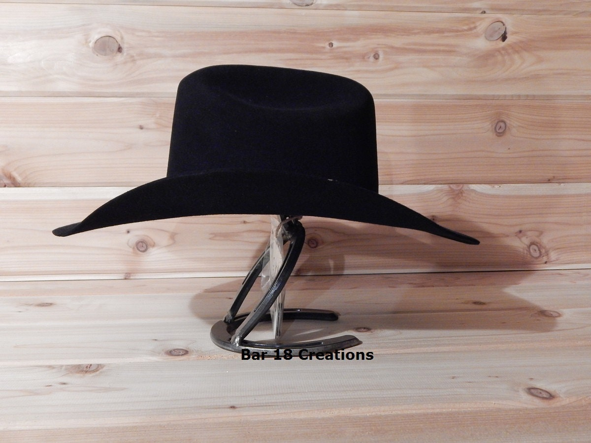 Horseshoe Cowboy Hat Rack Cowboy Hat Stand Single Cowboy Hat