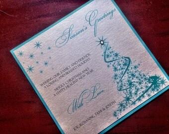 Custom Christmas Card - Holiday Card