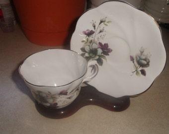 vintage lefton bone china cup saucer set coffee tea