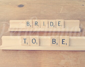 Bride to Be Sign | Scrabble Sign | Bachelorette Sign | Bride Sign | Bridal Shower Decoration | Bridal Tea Decoration