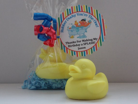 Baby Shower Favors Duck Soap ~ Rubber ducky soap favors baby shower
